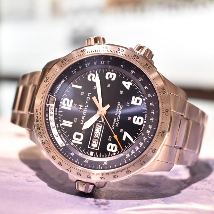 ハミルトンの機械式時計