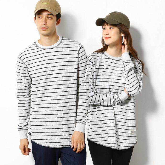 レイヤードスタイルに◎!ラウンドカットのロングTシャツ