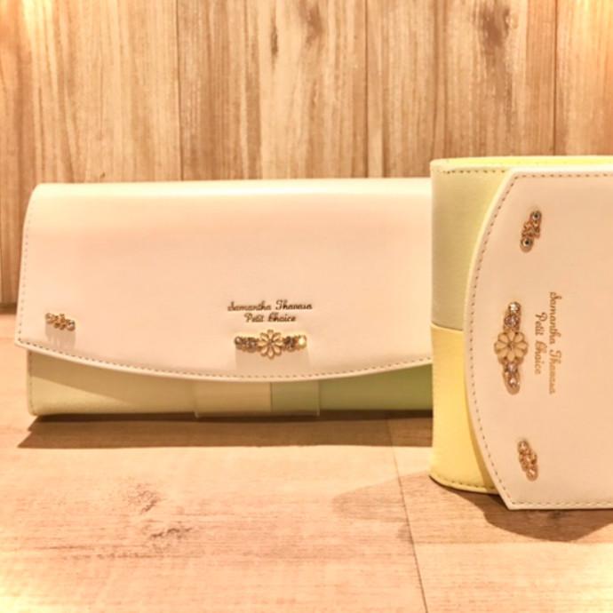 花柄モチーフ&鮮やかな色合い財布🌟