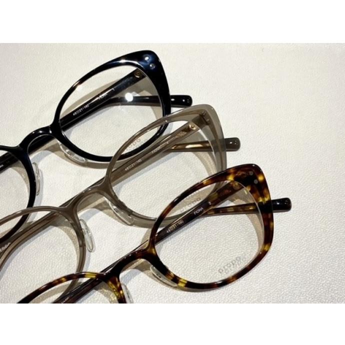 女性の為の眼鏡、propoから【FIONA】ご紹介致します。