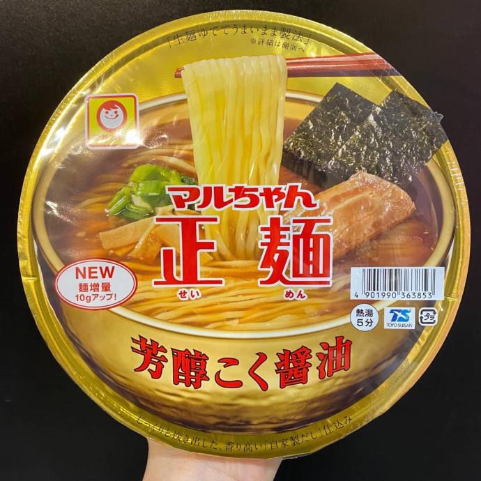 マルちゃん正麺 芳醇こく醤油
