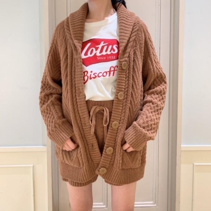Lotus Biscoff☕幸せな肌触りの、着るビスケット♡