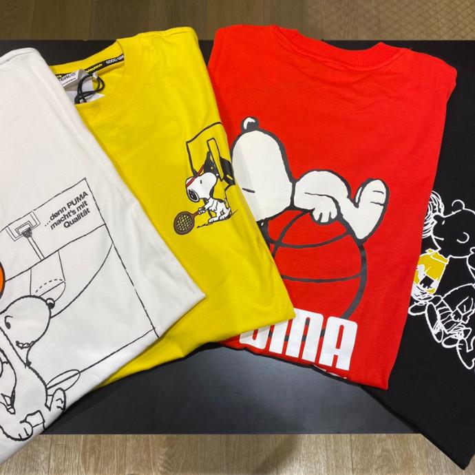 PUMA×PEANUTS Tシャツ
