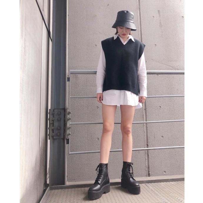 ★厚底8ホールショートブーツ★