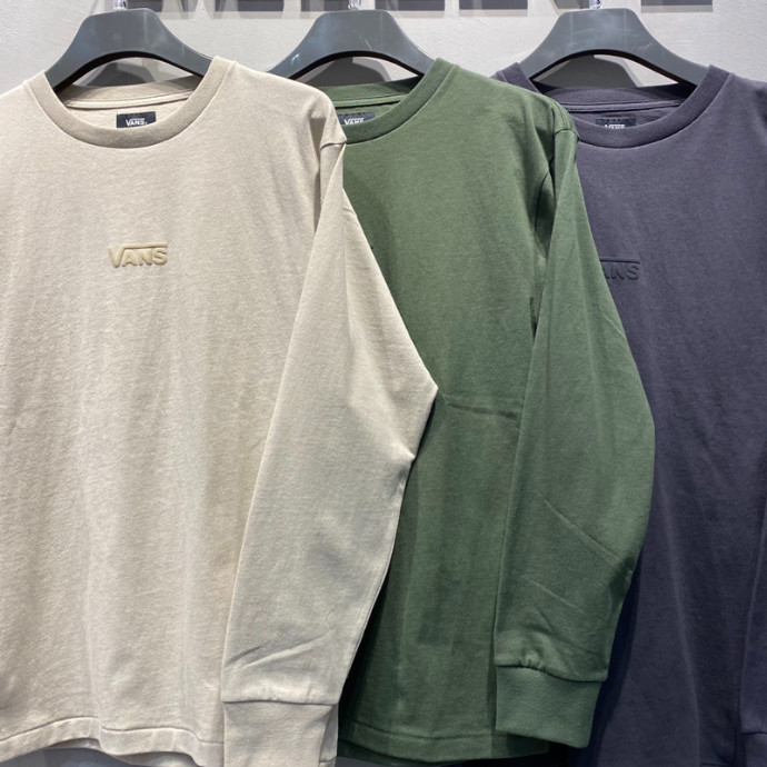 VANS M EARTH COLOR LS TEE