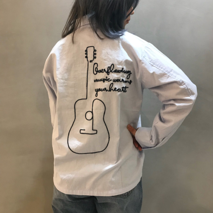 MILITARY EMBROIDERY JACKET
