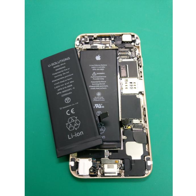 iPhoneのバッテリー交換は当日返却可能です!