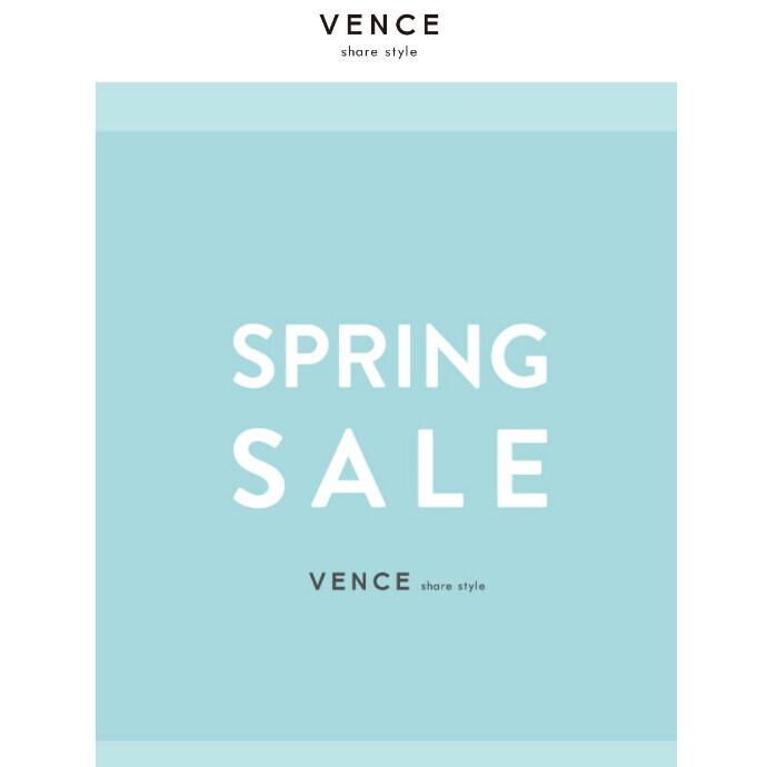 ☆ VENCE SPRING sale ☆