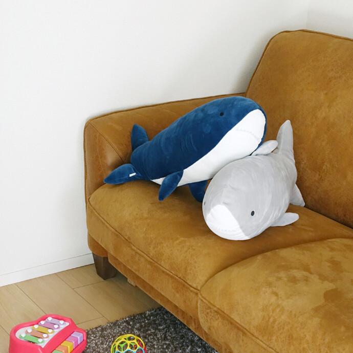 ぬいぐるみ(サメ)