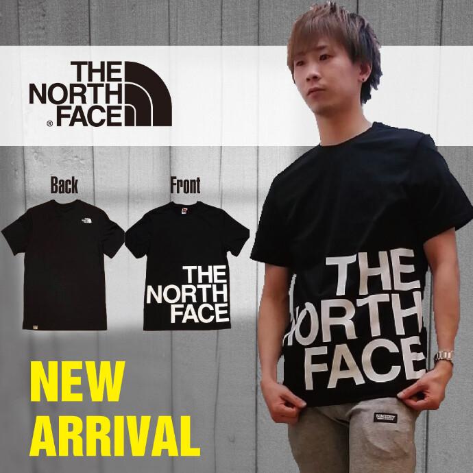 【メンズ】THE NORTH FACE フロントBIGTシャツ