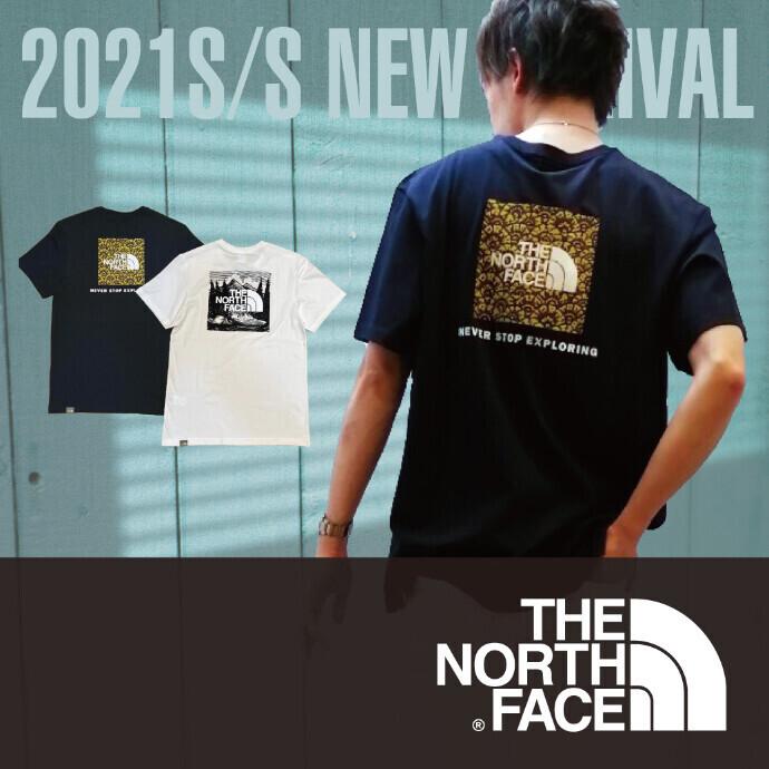 【メンズ】THE NORTH FACE バックBOXロゴTシャツ