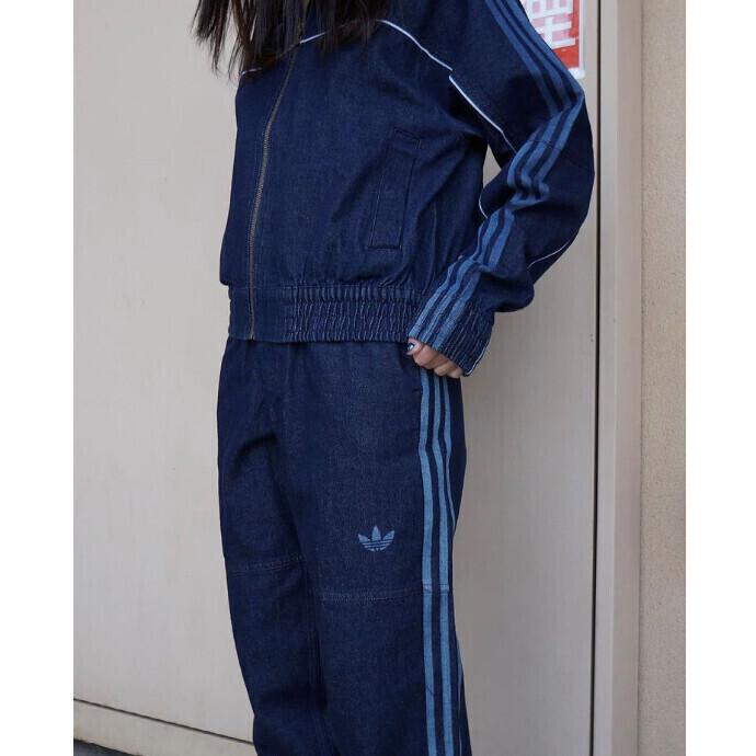 BLACKPINK JISOO 着用商品 デニム  JAPONA トラックジャケット トラックパンツ