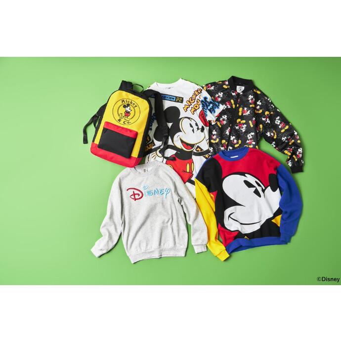 80年代、90年代のデザインにインスピレーションを得た「Mickey&Co.」のアイテムが登場!