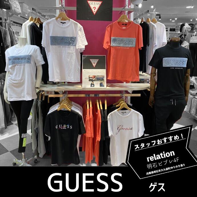 GUESS2021年の 新作Tシャツ入荷しています♪