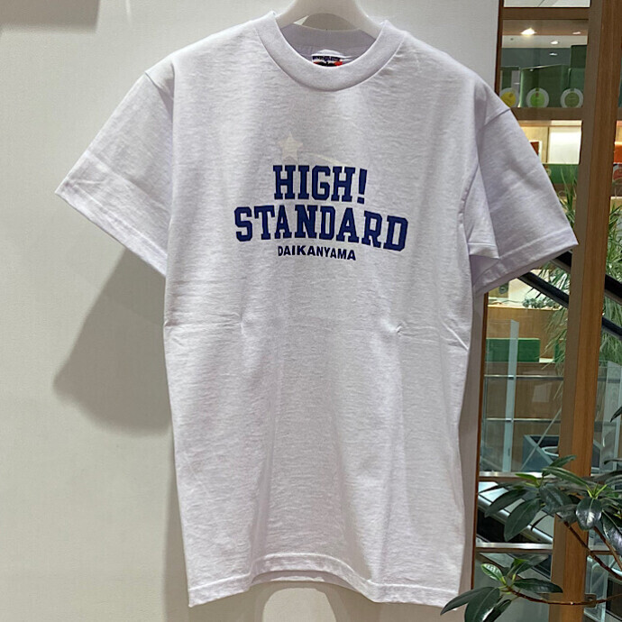 HIGH!STANDARD☆スタースタンダード Tシャツ