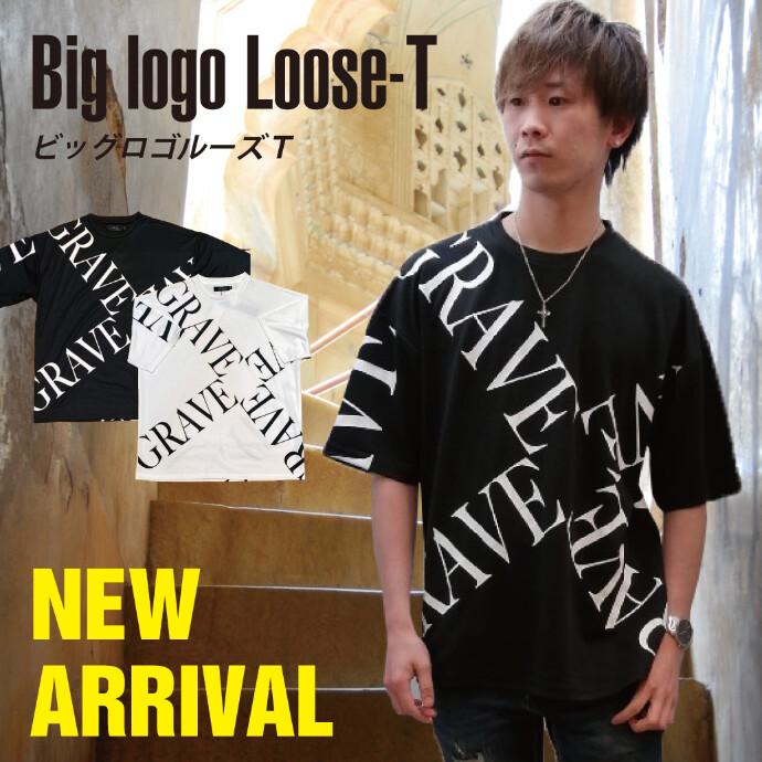 【メンズ】BIGロゴルーズTシャツ