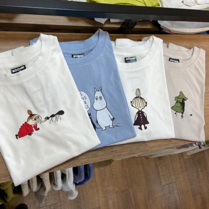 ムーミンTシャツ再入荷!