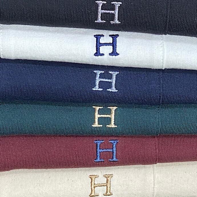 HRM☆Hエンブロイダリー ポケットショートスリーブTシャツ