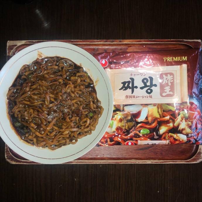 農心 チャーワン 韓国風ジャージャー麺