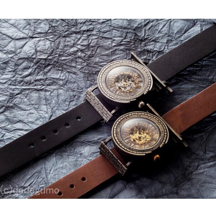 機械塔【きかいとう】手作り腕時計/手巻き&自動機械式時計