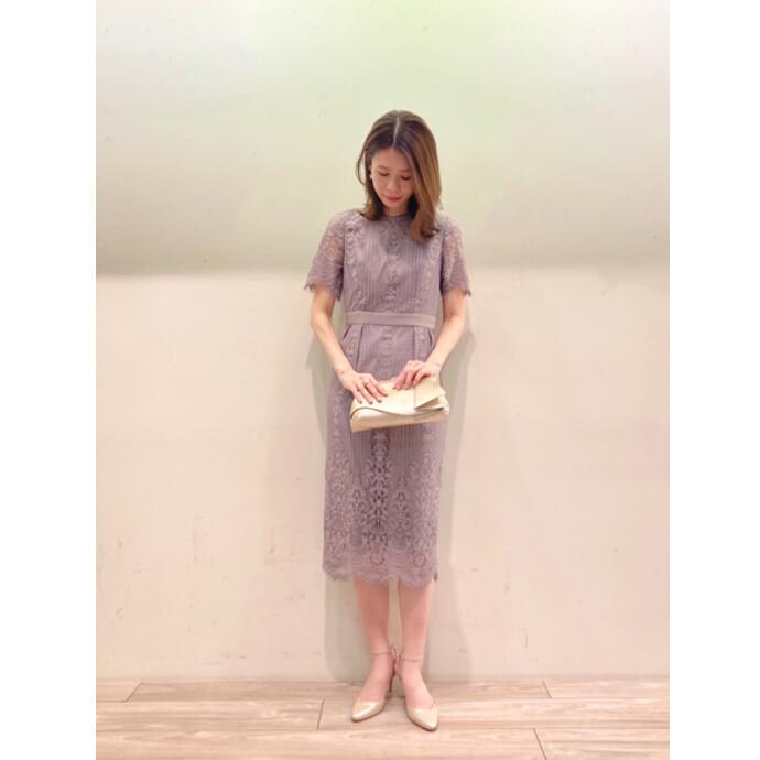 金沢店人気✨袖付きタイトドレス