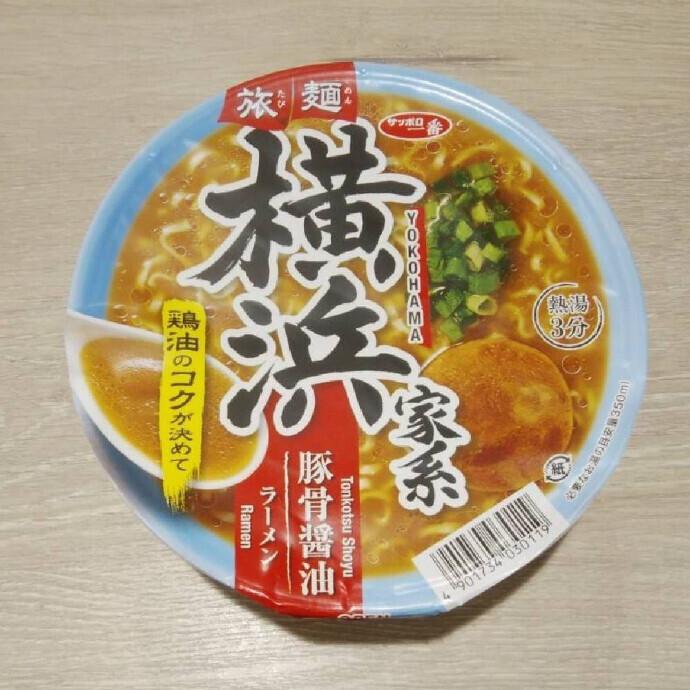 旅麺 横浜家系 豚骨醤油ラーメン
