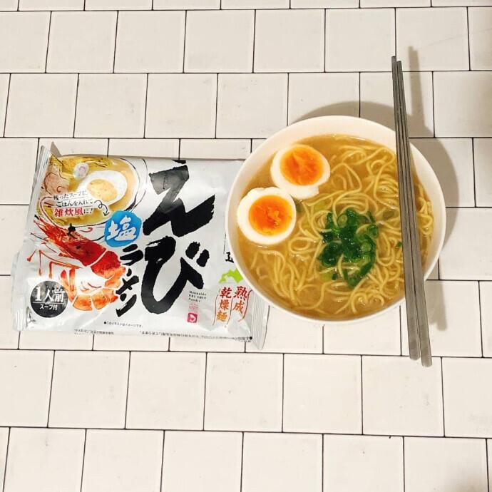 藤原製麺 本場北海道エビ塩ラーメン
