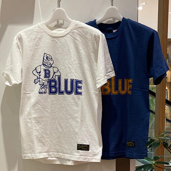 SOUTHERN MANUFACTU CO.・BLUE BLUE☆イーグルUSA Tシャツ