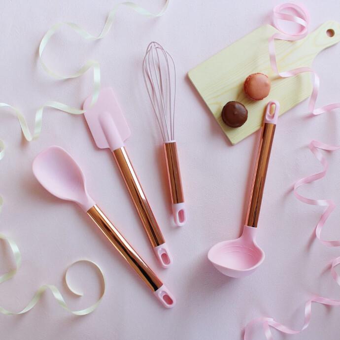 ♡NEW♡シリコーンキッチンツール(mellow pink)