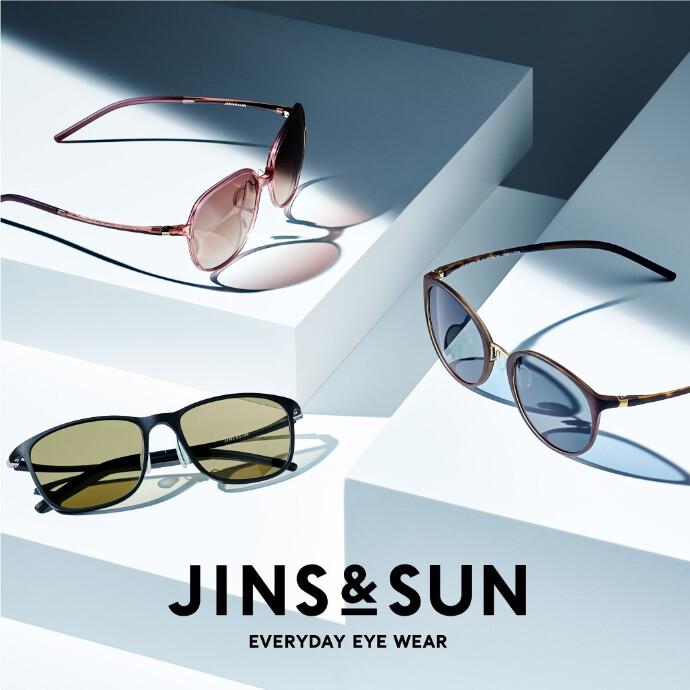 タイトル:新サングラスブランド「JINS&SUN」のシーズン到来!