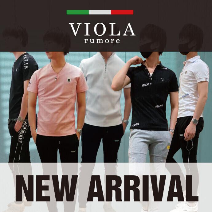 【メンズ】VIOLAポロ&Tシャツ SALEプライス!