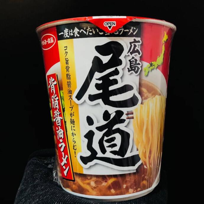 サンヨー食品 尾道背脂醤油ラーメン