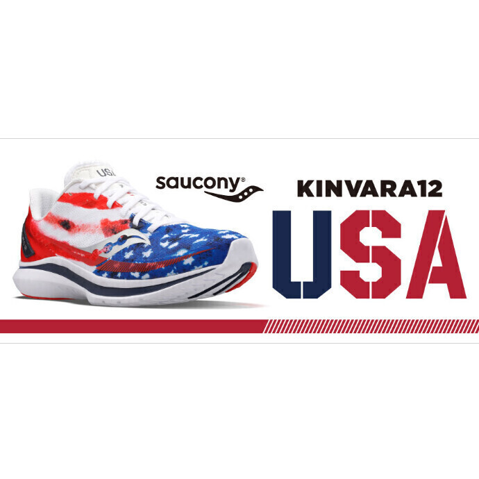 【SAUCONY KINVARA12 USA】入荷のお知らせ
