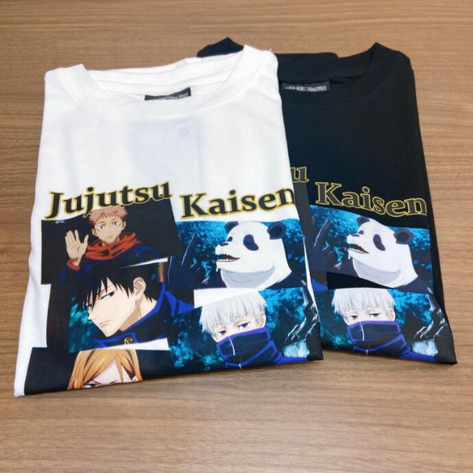 呪術廻戦Tシャツ第二弾✌🏻️