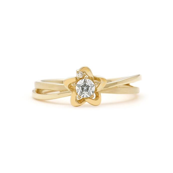 Wish upon a starダイヤモンドリング☆☆あなたへの特別なひとつ~贈り物にも・・・