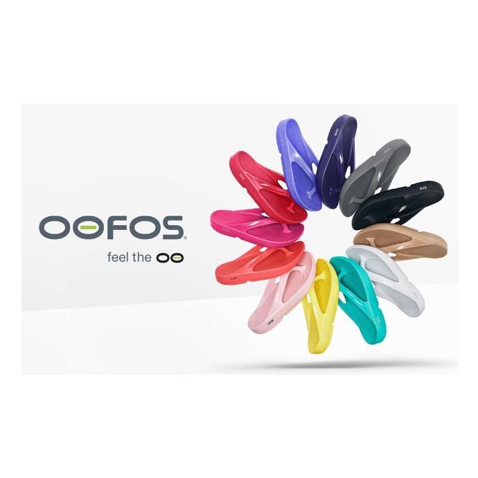 リカバリーシューズのパイオニアとして生まれた「OOFOS®」 入荷しております。