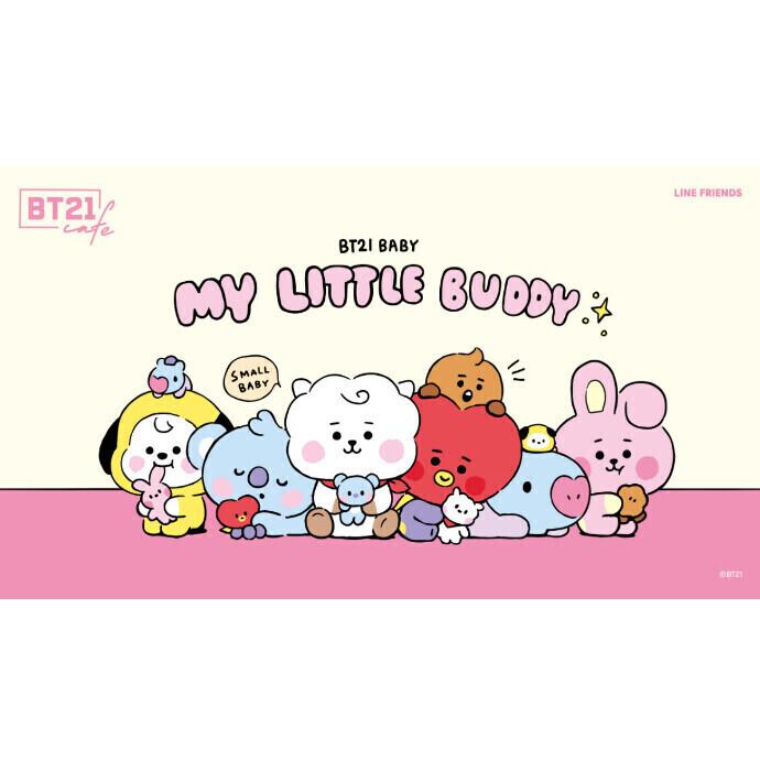 「BT21カフェ」                       ~MY LITTLE BUDDY~ OPEN!