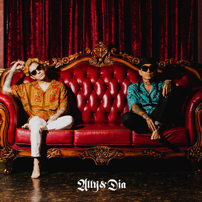 7.22(Thu) RELEASE!! 山嵐の武史さんプロデュースの「ALLY&DIA」