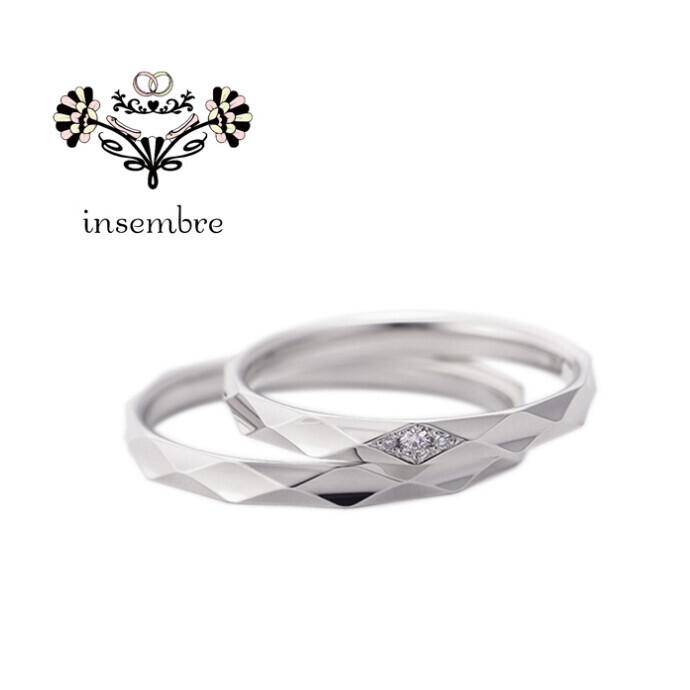新作☆結婚指輪『insembre(インセンブレ)』