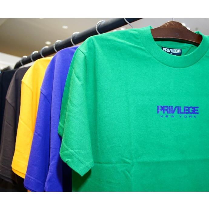 PRIVILEGEより、人気のスモールロゴTシャツがRESTOCK‼️