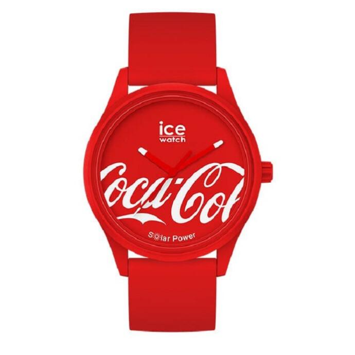 世界限定数1200本の「アイスウォッチ」と「コカ・コーラ」がコラボレーションしたソーラー腕時計!