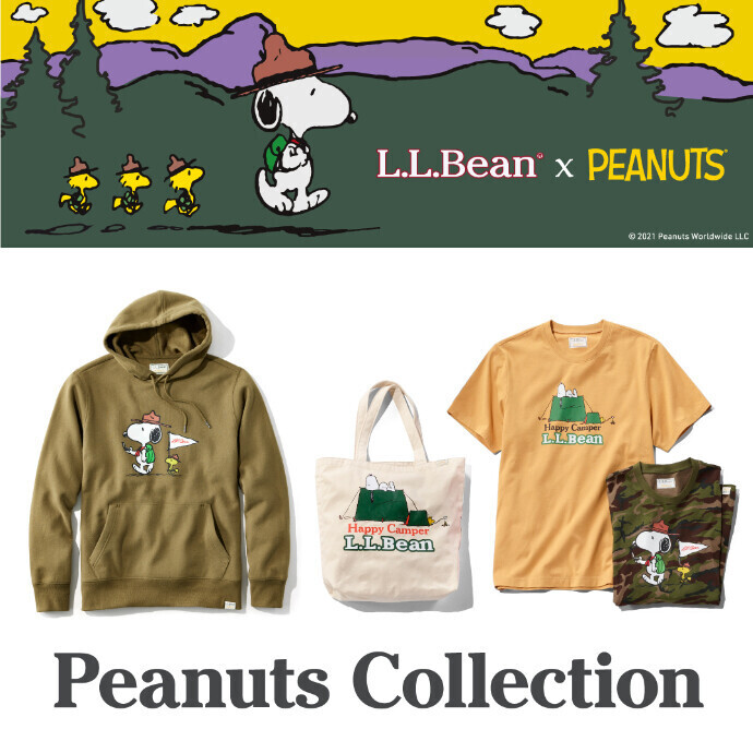 L.L.Bean×PEANUTS Collection♪