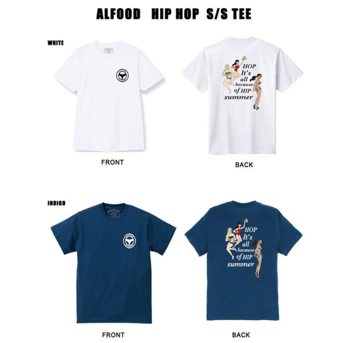 ALFOOD ''HIP HOP TEE''