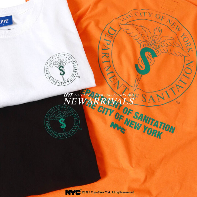 LFYT × DSNY COMMUNITY SERVICES TEE