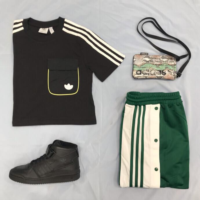adidasグリーンがかわいい♥♥♥