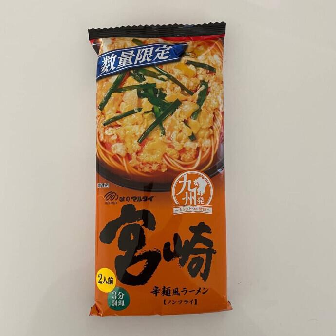 味のマルタイ 宮崎 辛麺風ラーメン
