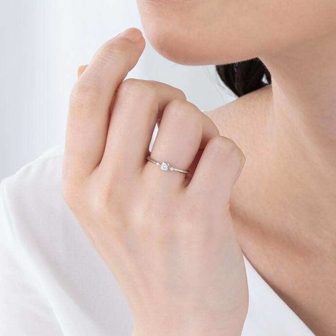 ◆◆イオシス◆◆プラチナダイヤモンドリング◆◆