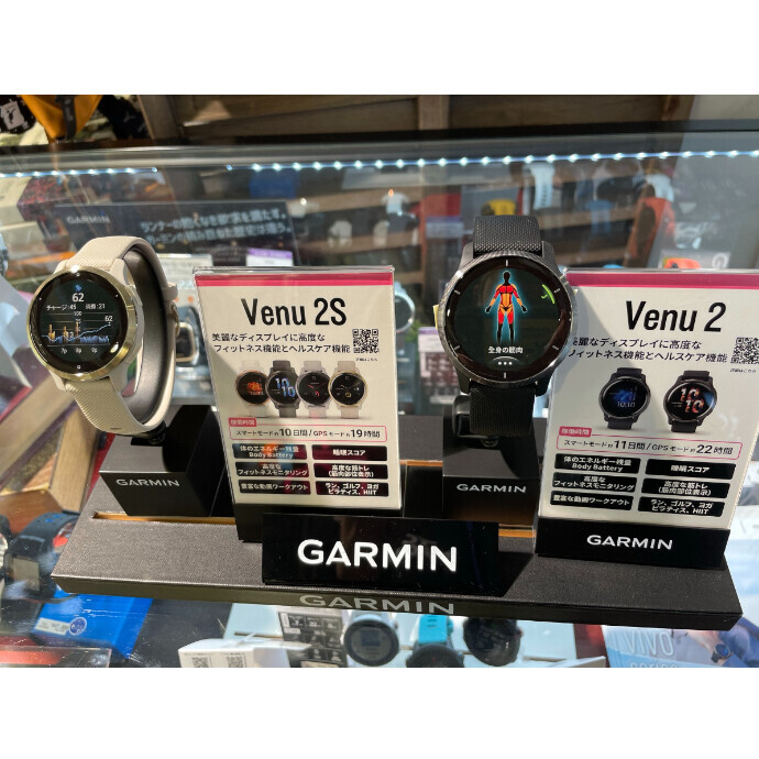 GARMIN(ガーミン)新作VENU2 VENU2S