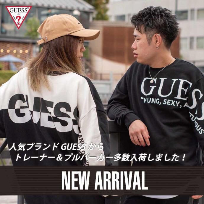 【GUESS】新商品トレーナー・パーカー入荷!