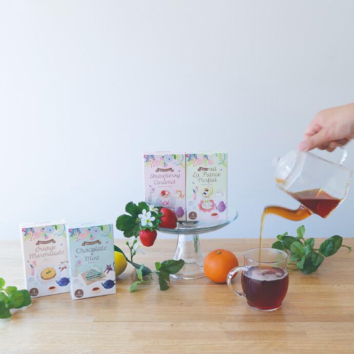 新商品!紅茶のパティシエ~それはまるでお菓子な紅茶~